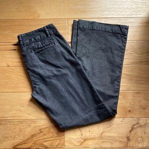 GAP Black Straight Leg Trouser Jean